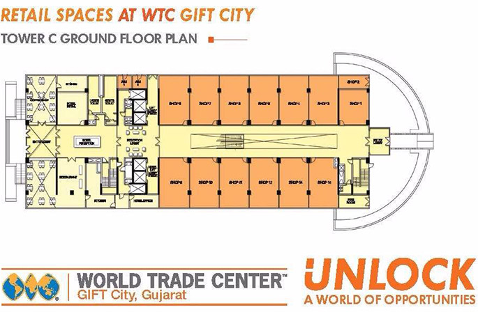 Wtc retail spaces shops at world trade center gift city for Retail building plans