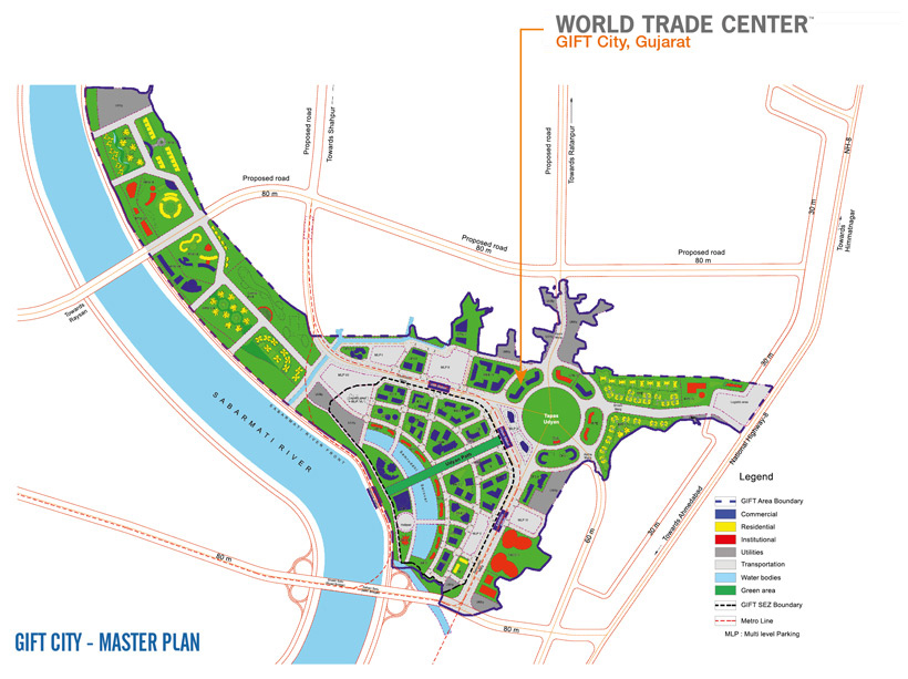 Location Of World Trade Center Gift City Wtc Gift City